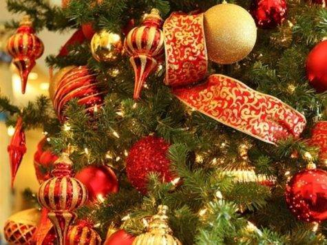 Christmas Tree Decorations Ideas Red Gold Designcorner
