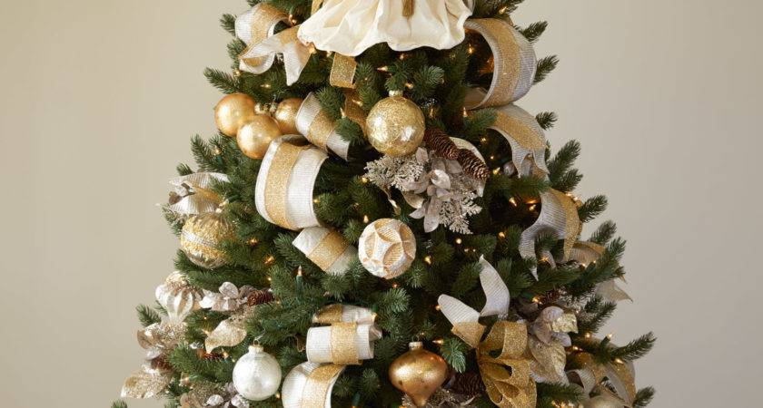 Christmas Tree Decorations Silver Gold