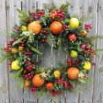 Christmas Wreath Williamsburg Style Hornshandmade