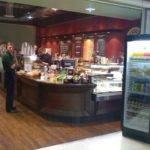 Clancys Coffee Manchester Airport Arrivals Counters