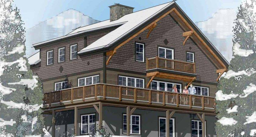 Classic Chalet Barn Home Floor Plans Ans Layouts