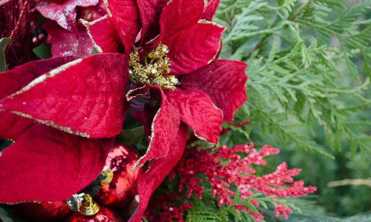 Classic Christmas Red Outdoor Decor Home Tour Time Thea