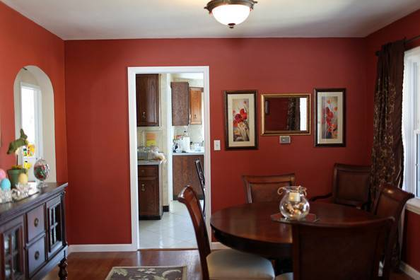 Classic Deep Red Paint Ideas Your Dining Room Zimbio