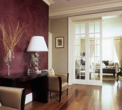 Classical Interiors Marsala Color Year