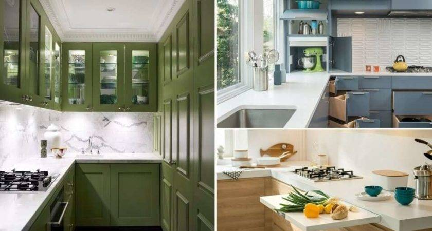 Clever Design Moves Small Space Kitchen