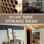 Clever Diy Shoe Storage Ideas Cool Diys
