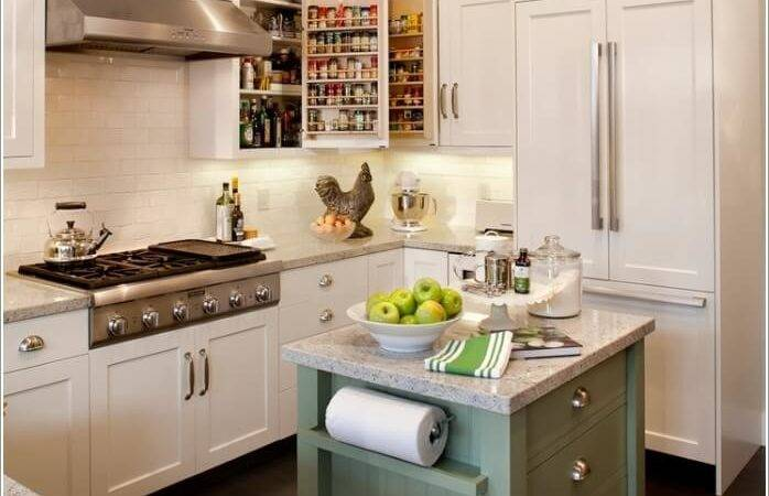 Clever Kitchen Towel Storage Ideas
