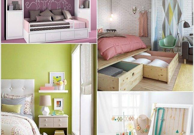 Clever Storage Hacks Tiny Bedroom Home Decor