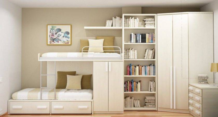 Clever Storage Ideas Small Bedrooms Bedroom