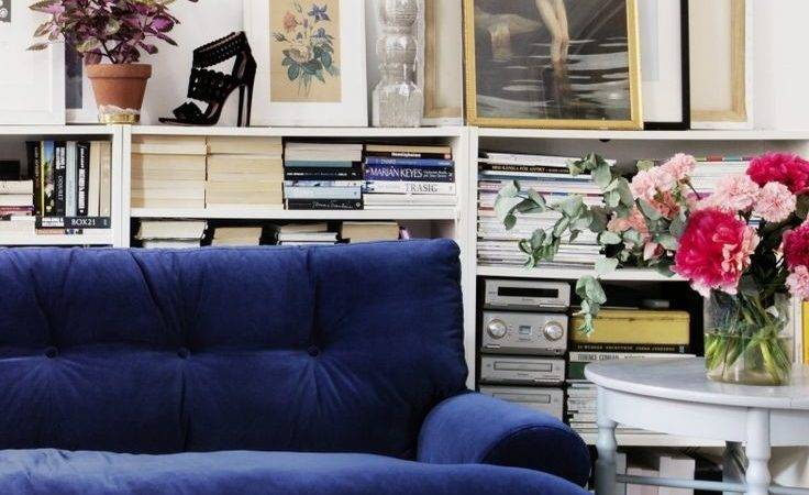 Cobalt Blue Sofa Implausible Ideas Couches