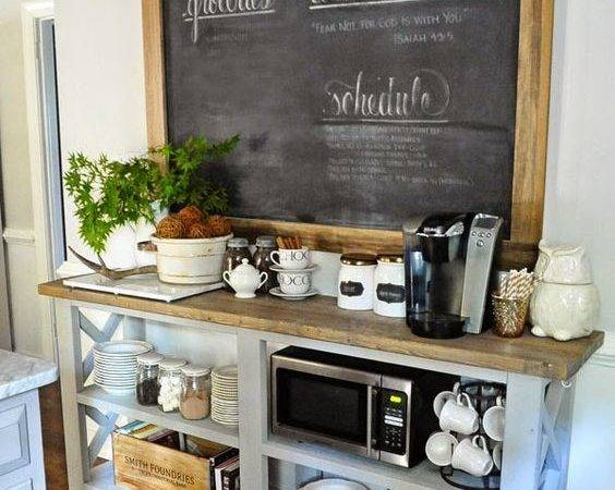 Coffee Bar Ideas Make Home