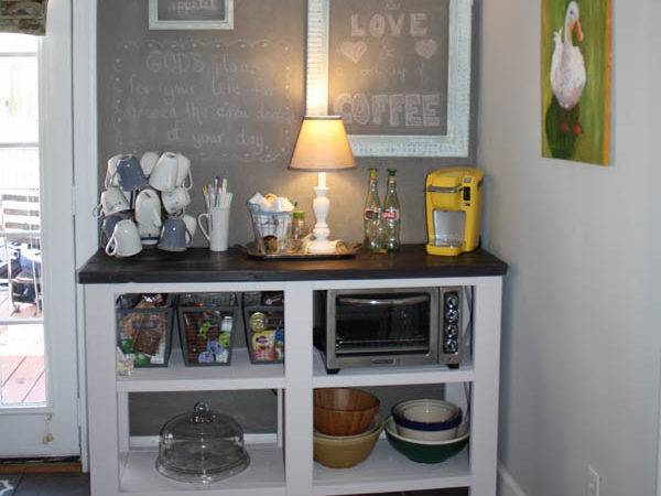 Coffee Bar Inspired Ana White Hometalk