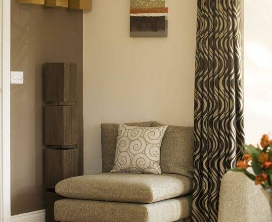 Coffee Coloured Feature Wall Walls Ideas