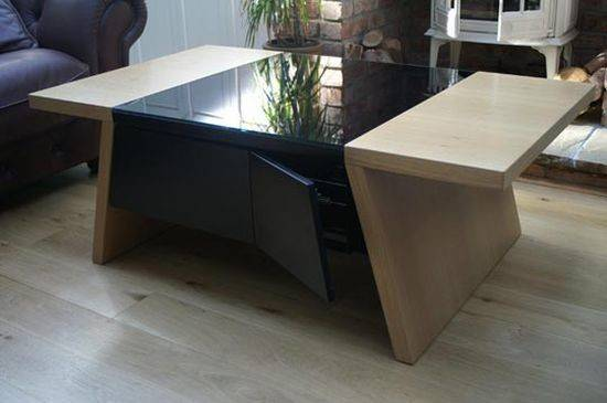 Coffee Table Makes Retro Gaming Contemporary Experience