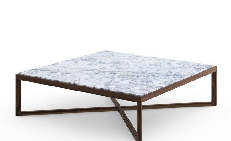 Coffee Table Modern Marble Oval