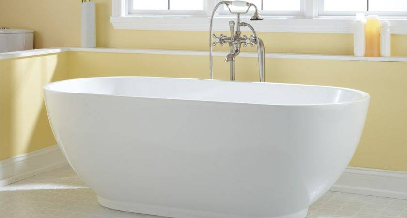 Coley Acrylic Freestanding Tub Bathroom