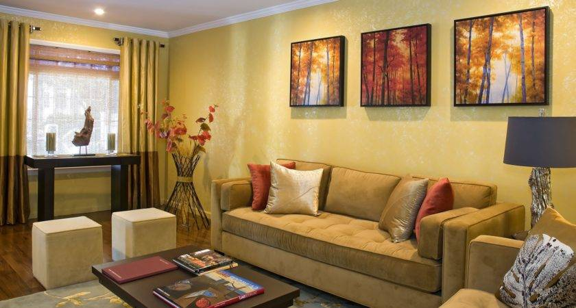 Color Curtains Yellow Walls Curtain