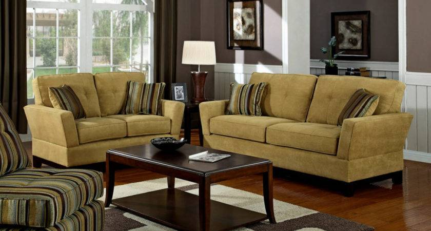 Color Paint Goes Dark Brown Furniture