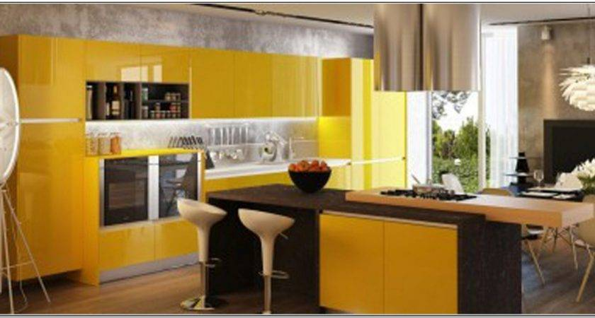 Color Paint Kitchen Walls Gray Cabinets