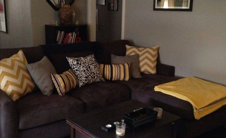 Color Schemes Living Rooms Brown Furniture