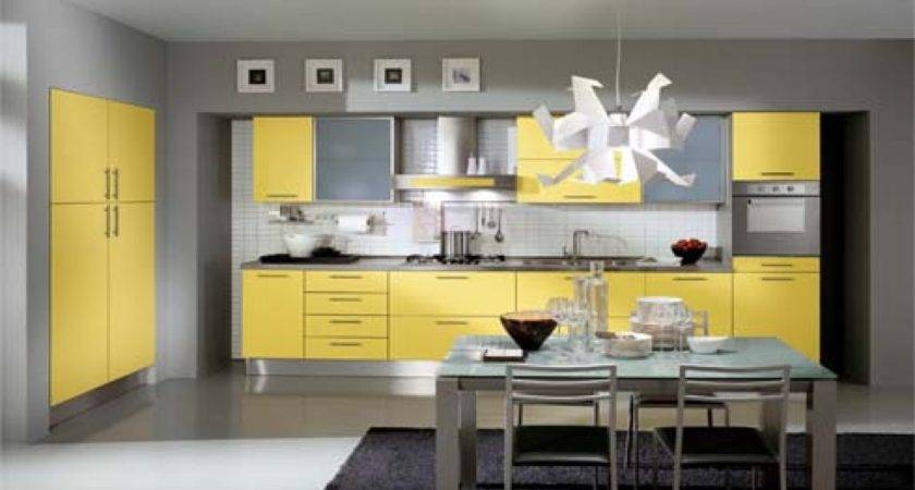 Color Should Paint Kitchen Green Yellow