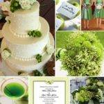 Color Theme Green Rustic Wedding Chic