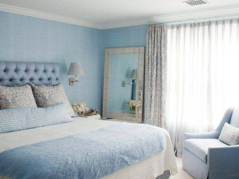 Color Watch Bold Bedrooms Shades Blue