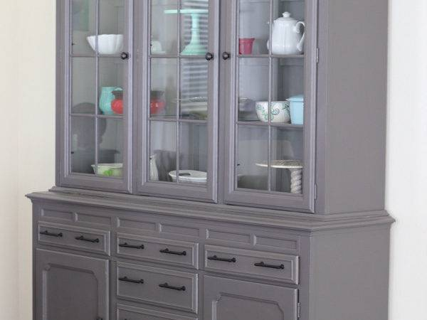 Colored China Cabinets Best Vintage