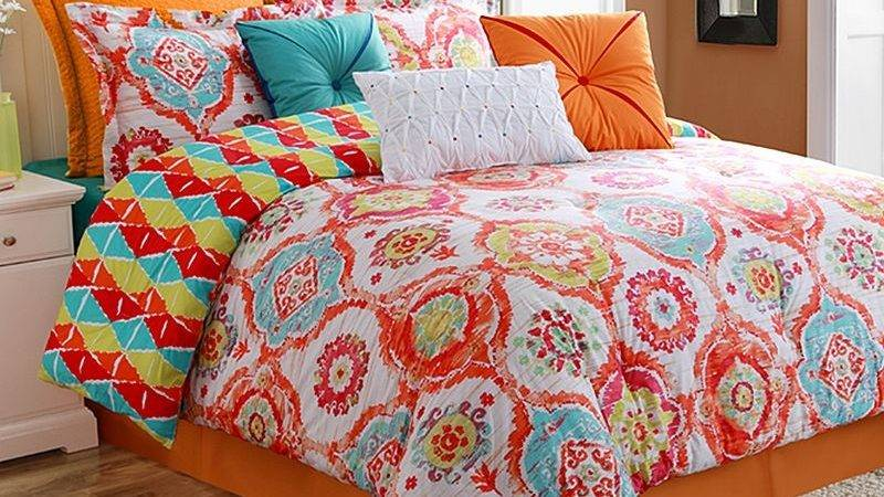 Colorful Comforter Sets Queen Modern French Style