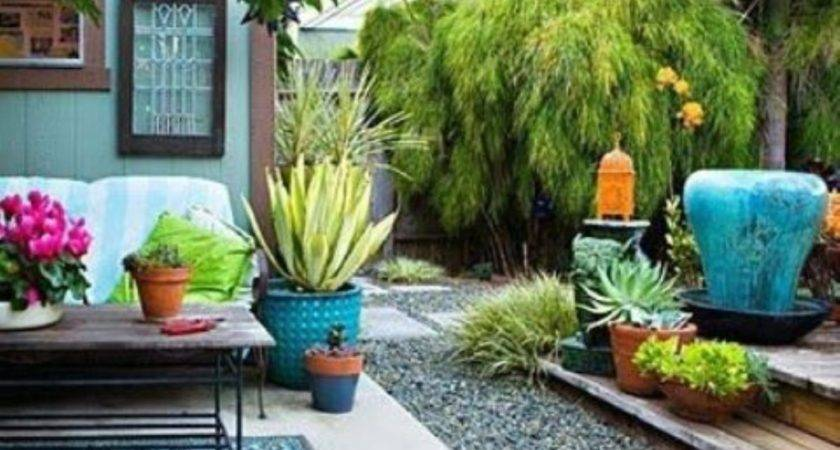 Colorful Garden Decoration Landscaping