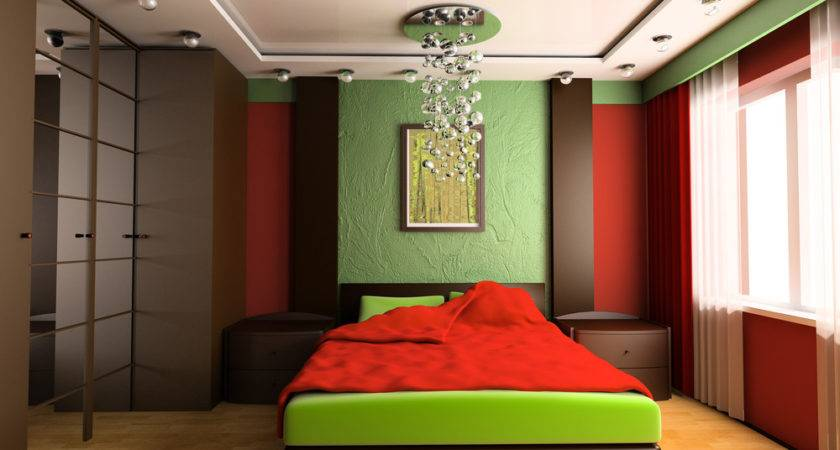 Colorful Green Bedroom Ideas Interior Design