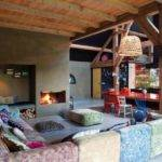 Colorful Interior Design Eclectic Style Turned Old Farm