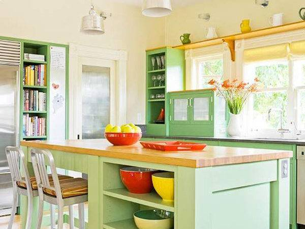Colorful Kitchen Ideas Small Spaces House Design