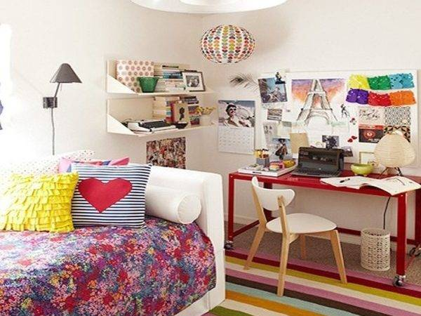 Colorful Teen Bedroom Awesome Design