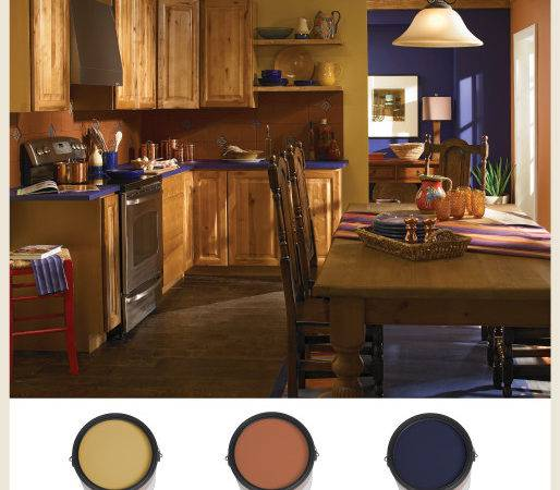 Colorfully Behr Terracotta Ancient Modern