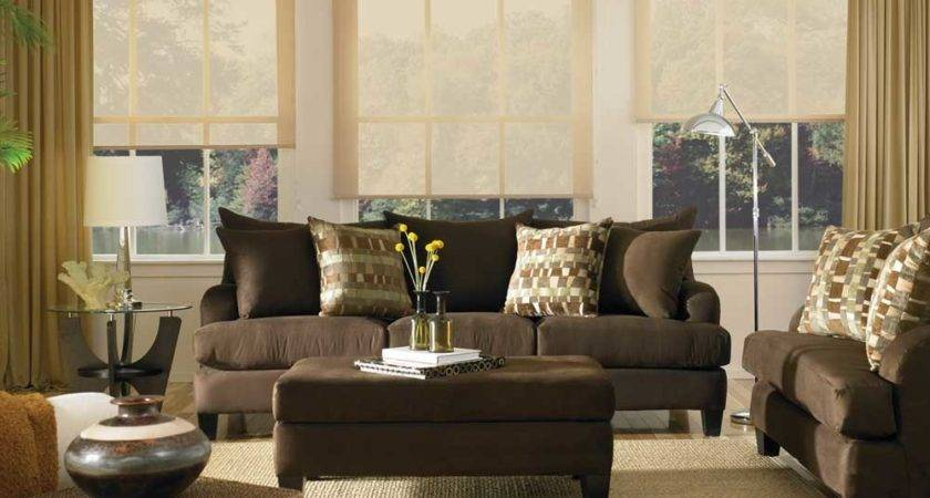 Colors Living Room Brown Couch Best