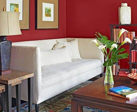 Colors Red Decorating Color Schemes White