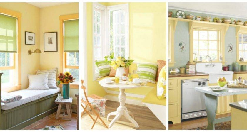Colors Yellow Walls Home Design Inspiration
