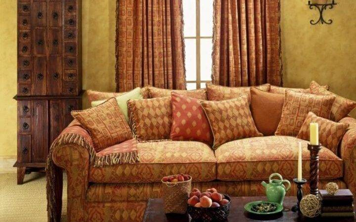 Colour Curtains Brown Sofa Colors