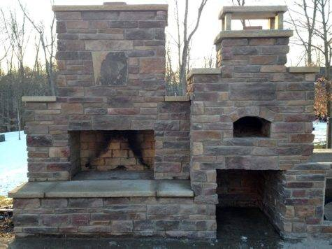 Combo Oven Fireplace