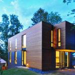 Compact Cantilevered House Historic Hood