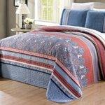 Compare Price Navy Blue Coral Bedding Statementsltd