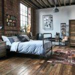 Compelling Industrial Bedroom Interior Designs