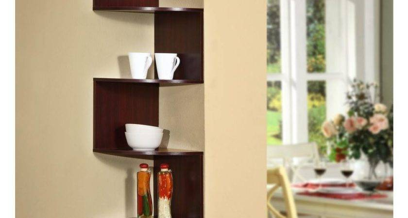 Concepts Hanging Wall Corner Shelf Storage