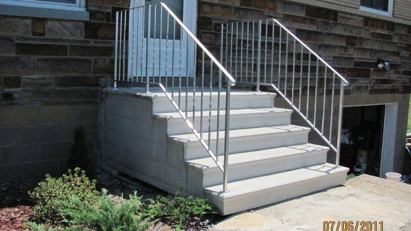 Concrete Unit Steps Hampton Products
