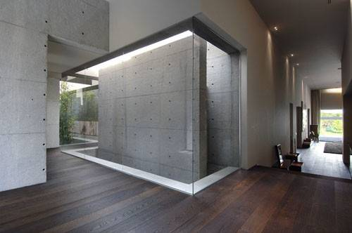 Concrete Walls Cool Decoration Ideas Interior