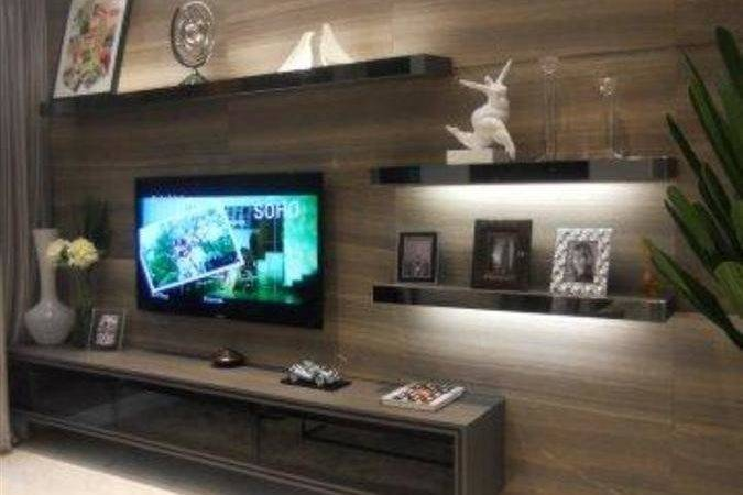 Console Feature Wall Simple Closet Pte Ltd
