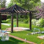 Construction Japanese Gazebo Hinode Pergola