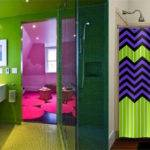 Contemporary Bathroom Design Magic Purple Ideas