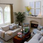 Contemporary Casual Living Room Traditional